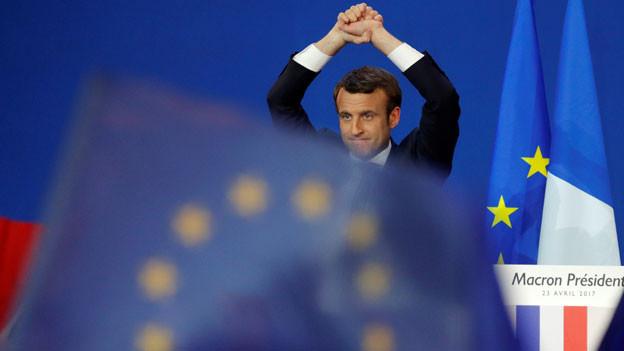 Emmanuel Macron, Präsident von Frankreich.