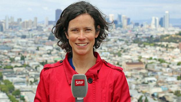 Die USA-Korrespondentin Priscilla Imboden.