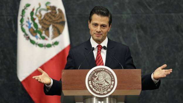 Hat er Journalisten ausspähen lassen? Der mexikanische Präsident Enrique Peña Nieto.