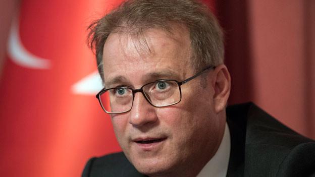 Ilhan Saygili, Botschafter der Türkischen Republik in Bern.