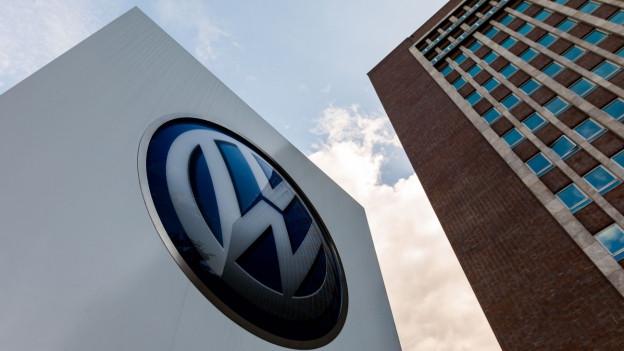 Im VW-Markenhochhaus in Wolfsburg kam der VW-Aufsichtsrat zu einer ausserordentlichen Sitzung zusammen.