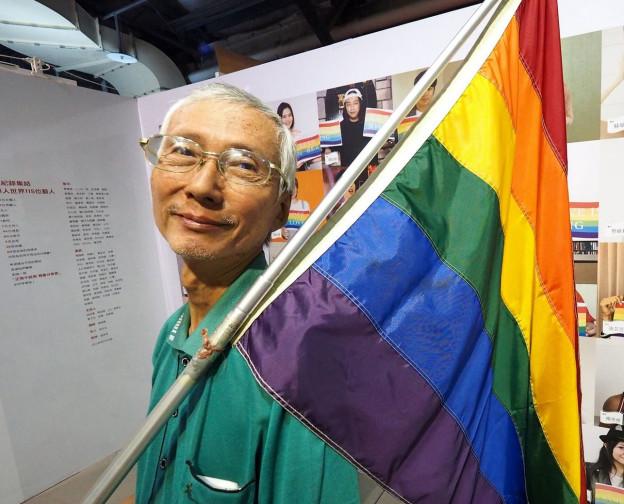 Taiwans führender Gay-Aktivist Chi Chia-Wei