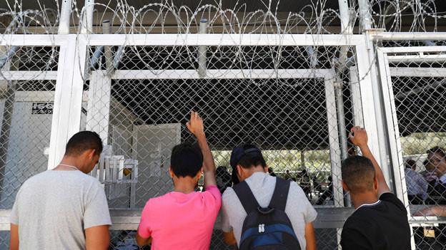 Flüchtlinge in Griechenland.