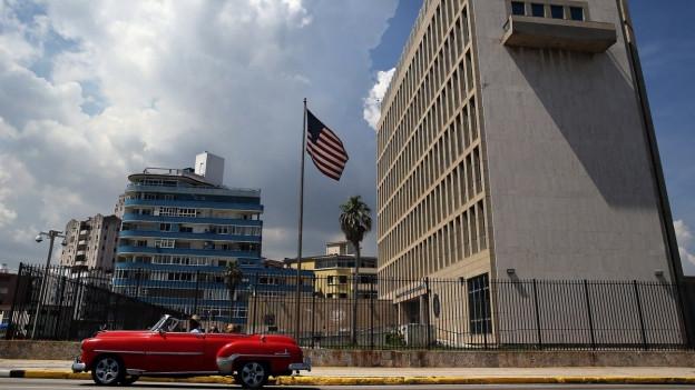 Die US-Botschaft in der kubanischen Hauptstadt Havanna.
