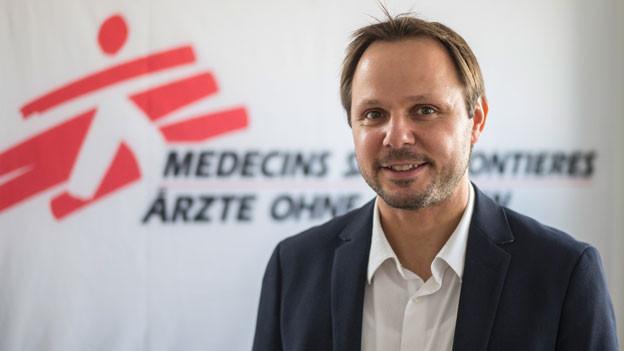 """Mario Thaler von «Ärzte ohne Grenzen"""" Österreich"""