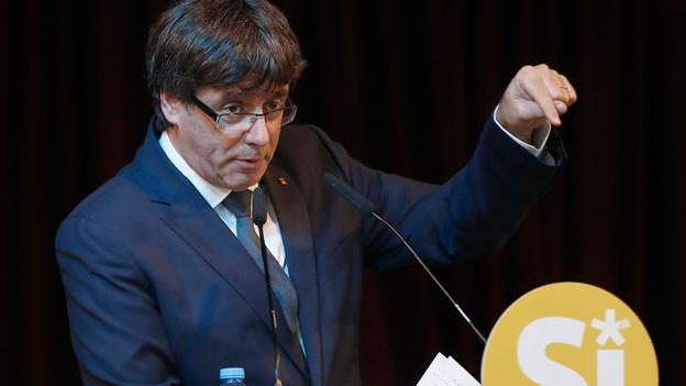 Der katalanische Regierungschef Carles Puigdemont.