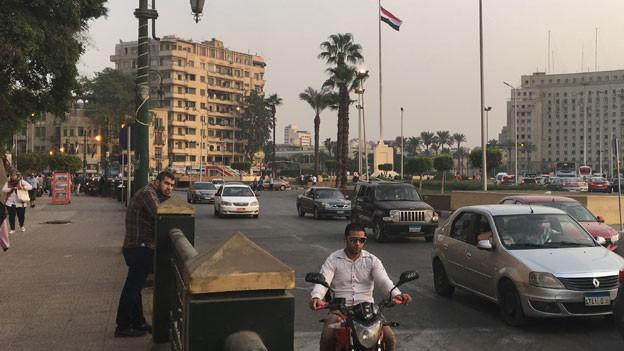 Tahrirplatz in Kairo. Längst rollt wieder der Verkehr, wo sich einst die Hoffnungen auf ein neues Ägypten konzentrierten.