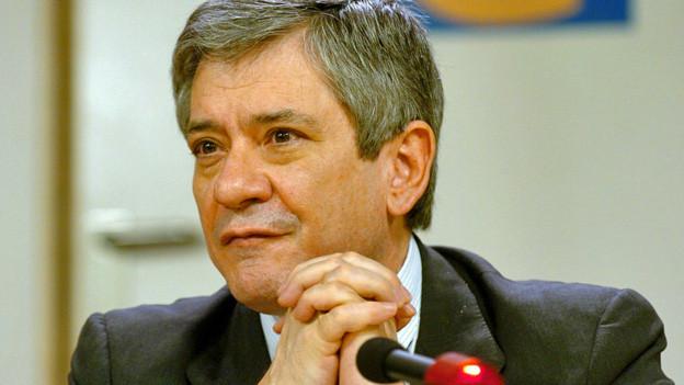 Enrique Baron Crespo. Archivbild von 2004.