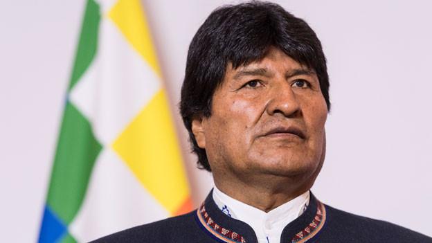 Der bolivianische Präsident Evo Morales ist zu Besuch in Bern.