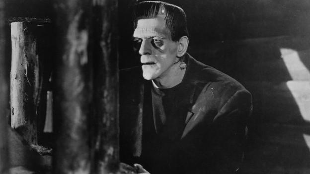 Frankensteins Monster zu sehen in der Filmversion.