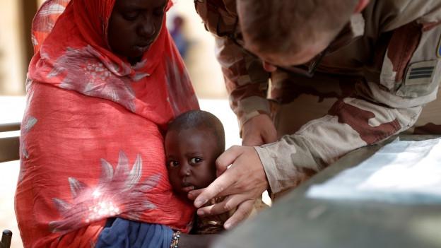 Humanitäre Krise in Mali.