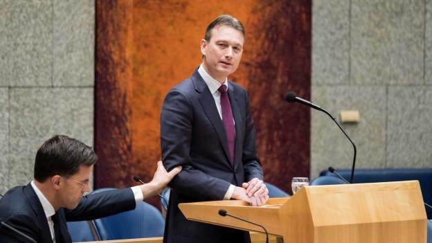 Der niederländische Aussenminister Halbe Zijlstra am 13. Februar 2018.