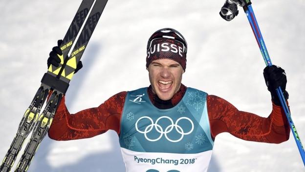 Dario Cologna holt Gold: Ob das Wunderwachs auf den Ski mitgeholfen hat?