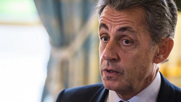 Nicolas Sarkozy, früherer französischer Staatspräsident.