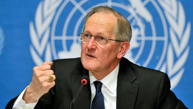 Der ehemalige Bundesrat Joseph Deiss, Ex-Präsident der UNO-Generalversammlung