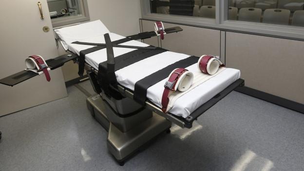 Eine Todeszelle im Staatsgefängnis von Oklahoma.