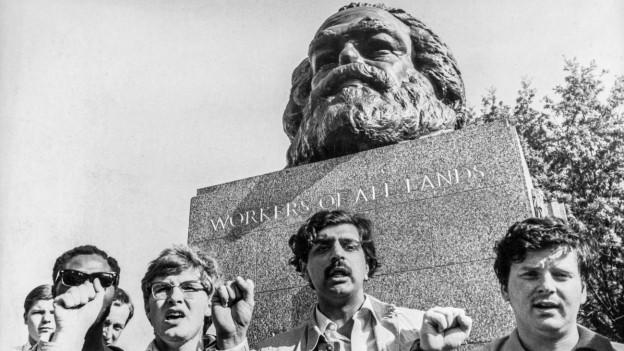 Ein Monument von Karl Marx als Zeuge der Zeit. Doch wie aktuell sind Marx' Gedanken heute noch?