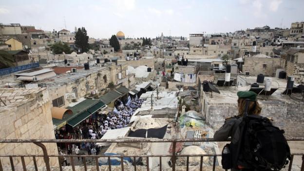 Der Sitz der US-Botschaft ist ab heute in Jerusalem.