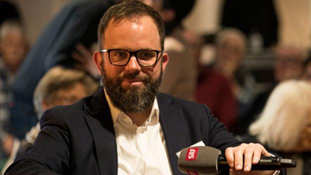 Der SRF-Moskau-Korrespondent David Nauer.
