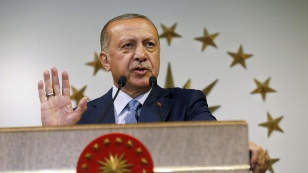 Bisheriger und künftiger Präsident zugleich: Recep Tayyip Erdo?an.