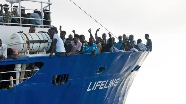 Das Rettungsschiff «Lifeline» darf nicht anlegen.