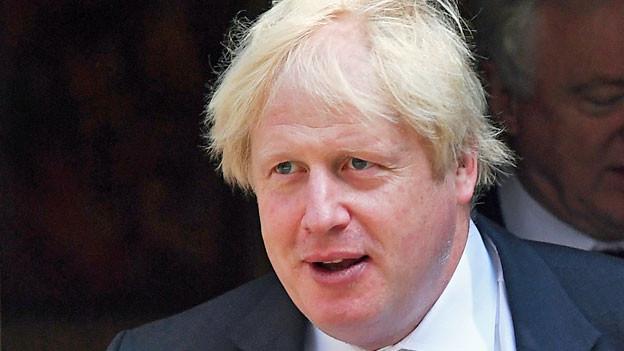 Der britische Aussenminister Boris Johnson hat am Montagnachmittag seinen Rücktritt bekannt gegeben.