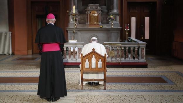 Papst Franziskus gedenkt der Opfer kirchlichen Missbrauchs in Irland.
