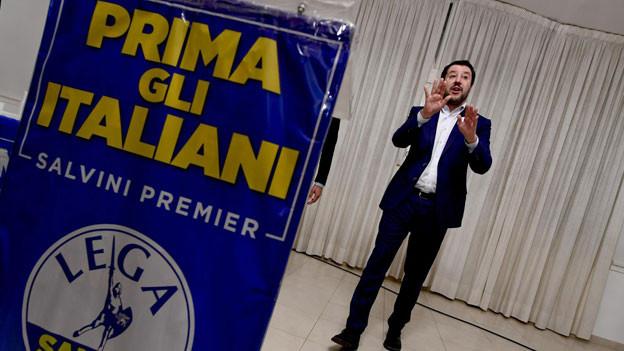 Italiens Innenminister MatteoSalvini.