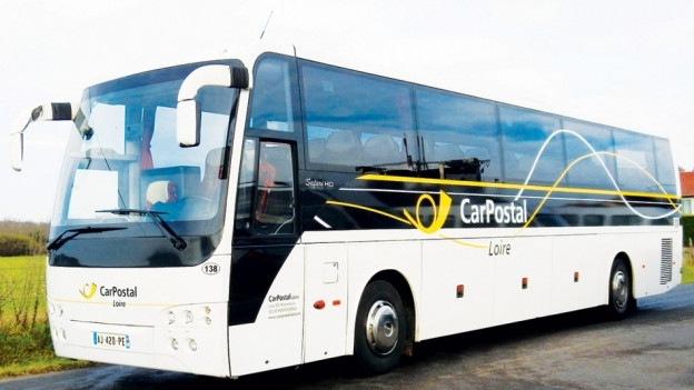 Ein Bus von CarPostal France.