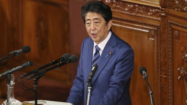 Der japanische Premierminister Shinzo Abe befindet sich momentan auf Staatsbesuch in China.