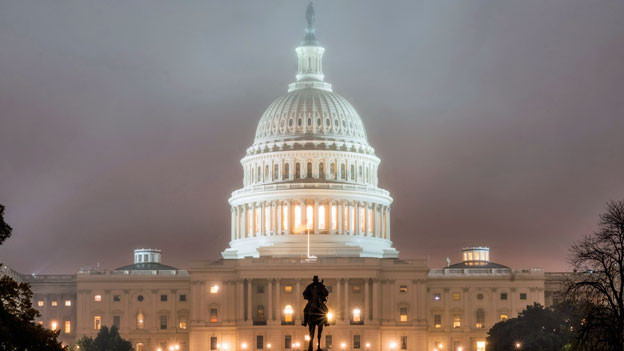 Das US-Kapitol in Washington.