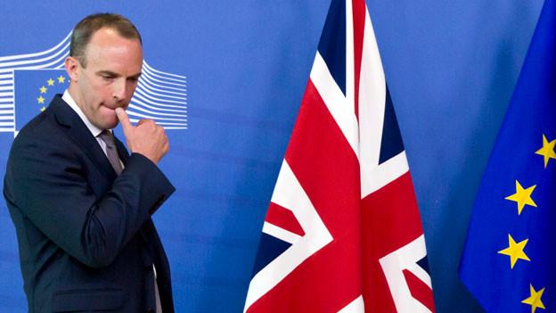 Überraschender Rücktritt von Brexit-Minister Dominic Raab.