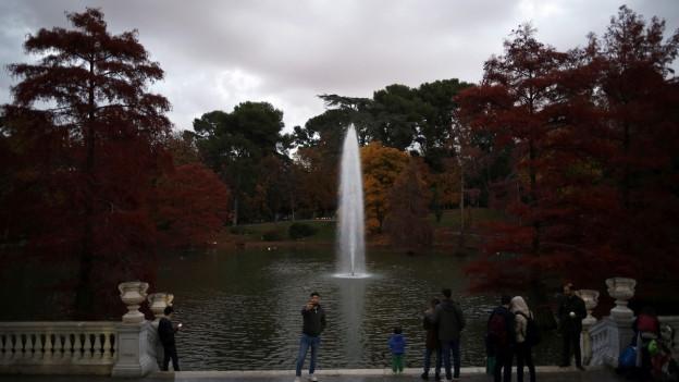 Das ist der Retiro-Park in Madrid, und in Madrid wird es keine DPA Meldungen mehr geben.