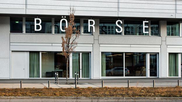 Schweizer Börse in Zürich. Symbolbild