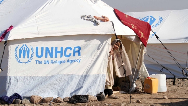Unterkunft für Flüchtlinge in Herat / Afghanistan (16.12.2018).