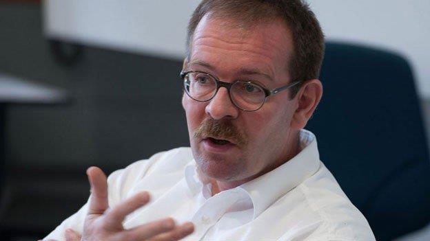 Sicherheitsexperte Andreas Wenger.