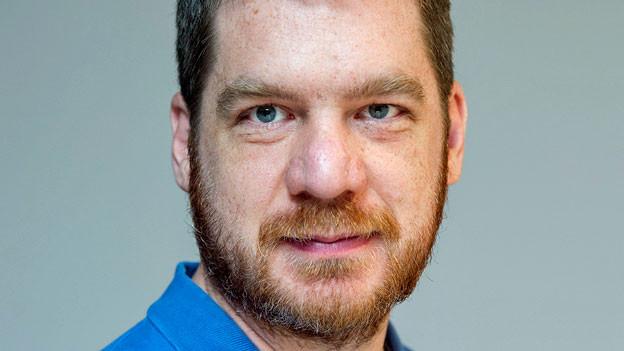 Marton Gergely. Der Journalist ist ein langjähriger Beobachter des ungarischen politischen Betriebs.