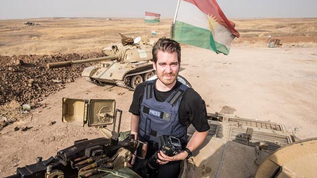 Der Photojournalist Alex Kühni.