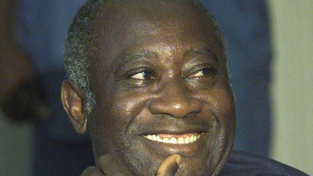 Laurent Gbagbo, ehemaliger Präsidenten der Elfenbeinküste.