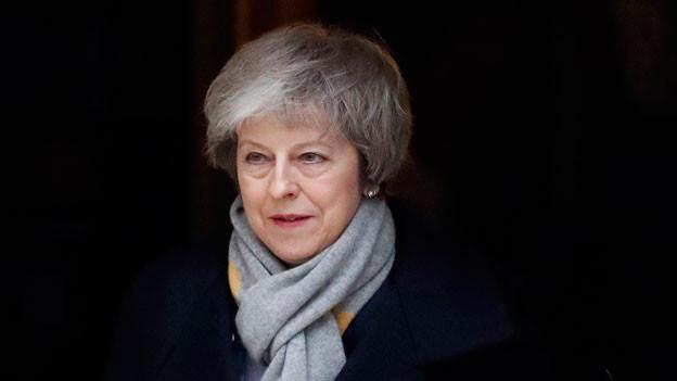 Die britsche Premierministerin Theresa May im Januar 2019.