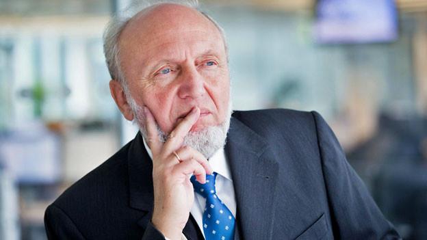 Hans-Werner Sinn. Der Münchner Ökonom will einem breiten Publikum die Welt erklären.
