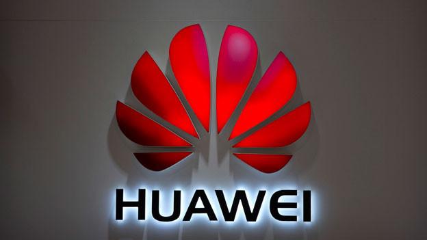 Das Logo des chinesischen Telekomkonzerns Huawei.