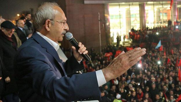 Der Vorsitzende der Oppositionspartei der Republikanischen Volkspartei (CHP) Kemal Kilicdaroglu in Ankara. Ist die Ära Erdogan in der Türkei vorbei?