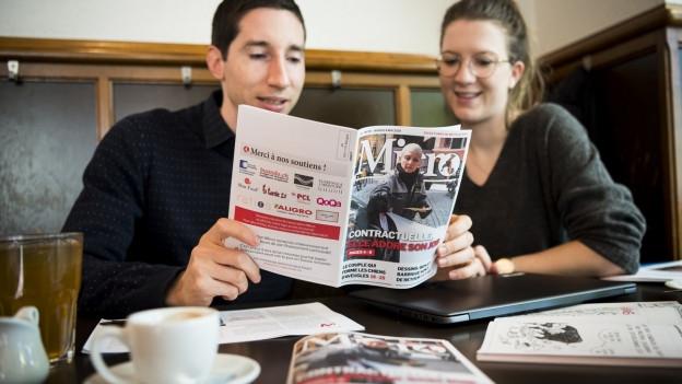 Das Beizen-Blatt «Micro» – Diese Woche erschien die erste Ausgabe.