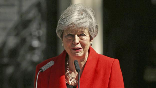 Die britische Premierministerin Theresa May hat am 24.5.2019 ihren Rücktritt angekündigt.