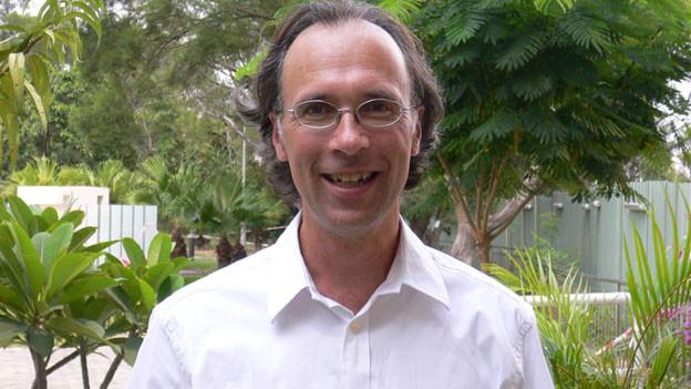 Tobias Brandner, Gefängnispfarrer in Hongkong.