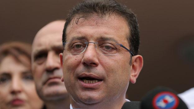 Ekrem Imamoglu von der Oppositionspartei wird der neue Bürgermeister von Istanbul.