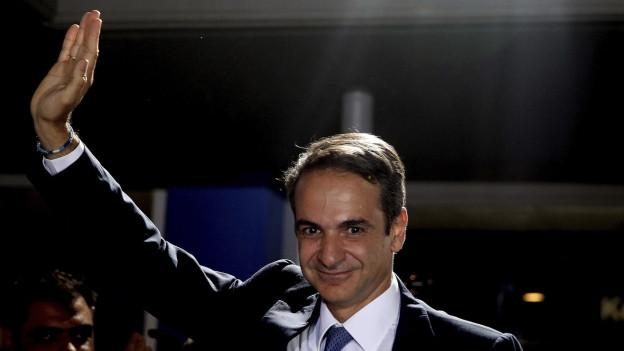 Der neue Ministerpräsident Griechenlands, Kyriákos Mitsotákis.