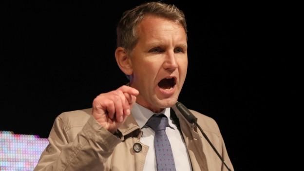 Politisiert am äussersten rechten Rand der AfD: Björn Höcke.