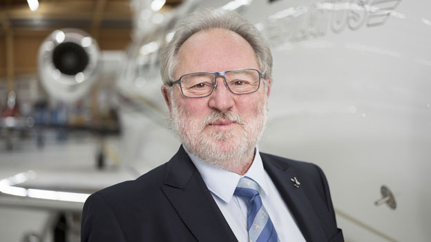 Oscar J. Schwenk, Präsident der Pilatus Flugzeugwerke